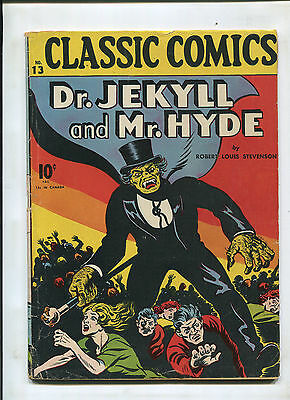 Classics Illustrated #13 (6.5) Dr. Jekyll And Mr. Hyde 1St Print! Huge Key!
