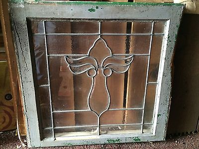 Beautiful Old Angel Flower  Design Heavy Bevel Window