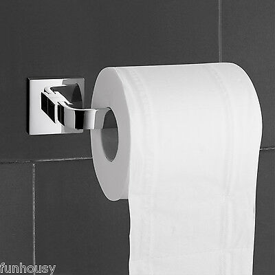 Clearance!! Toilet / Tissue Paper Holder, Brass Chrome Finish Bathroom Accessory