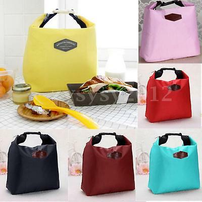 UK Thermal Small Portable Insulated Cooler Picnic Storage Bag Lunch Carry Tote