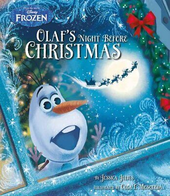 Disney Frozen Olafs Night Before Christmas Picture Book by Disney Book The Cheap