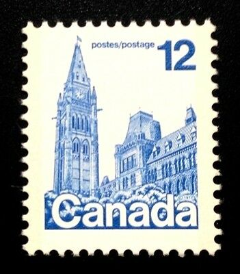 Canada #714 coated BABN MNH, Houses of Parliament Definitive Stamp 1977