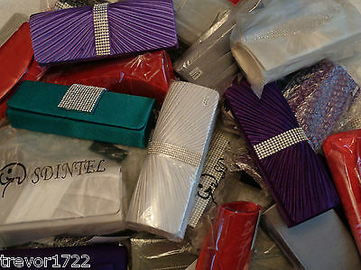 Wholesale Clearance Joblot Womens Ladies Girls Handbags Clutch Bags Bnwt 32 Mix