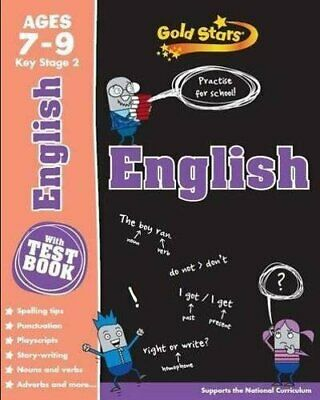 Gold Stars KS2 Age 7-9 English (Gold Stars Ks2 Workbooks) by Gold Stars Book The