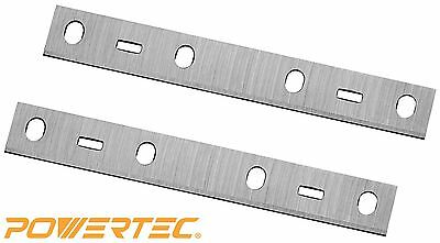 POWERTEC 148015 6-Inch Jointer Knives for Porter Cable PC160JT, HSS, Set of 2