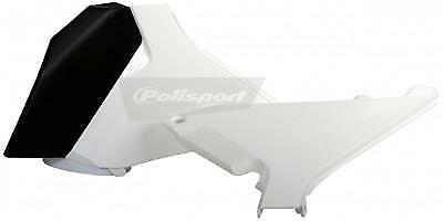 Polisport Air Box Covers Plastic White Left and Right both KTM 8403000001