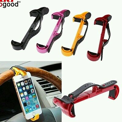 Universal Car Steering Wheel Cell Mobile Phone Holder for iPhone smartphones