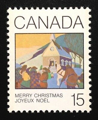 Canada #870 MNH, Christmas - Greeting Cards Stamp 1980
