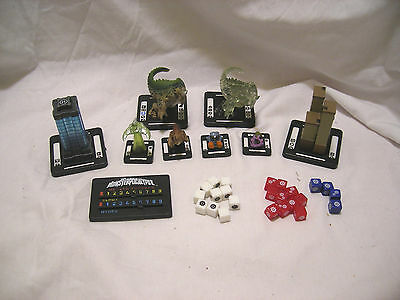 Monsterpocalypse lot of 9 misc pieces and Dice