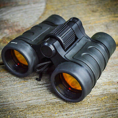 4x30 Mini Stealth Tactical Ruby Binoculars Compact Outdoors Camping Hunting