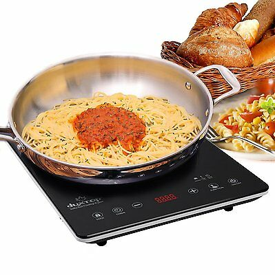 DUXTOP UltraThin Full Glass Top Portable Sensor Touch Induction by Secura,9300ST