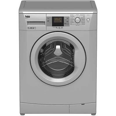 Beko WMB71543S A+++ 7Kg 1500 Spin Washing Machine Silver New from AO