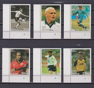 s7114) BHUTAN 1997 MNH** WC Football'98 - CM Calcio 6v