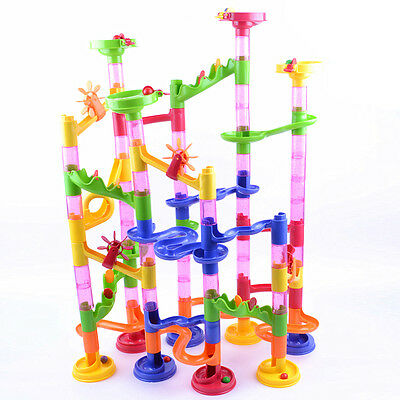 Marble Run Race Kid Children Boy Building Construction Blocks Creative Game Gift