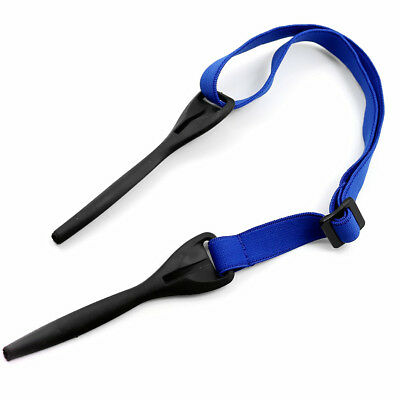 Blue Strap Reading Glasses Sunglasses Spectacle Head Safety Cord Holder Rope