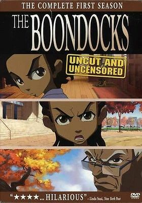 The Boondocks - Complete First Season (2006, 3-Disc, DVD) Boxset New & Sealed