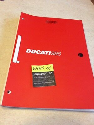 Ducati 996 1999 manuel atelier revue technique workshop service manual