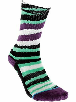 Stance Green Glow In The Dark Lizard King Kids Socks