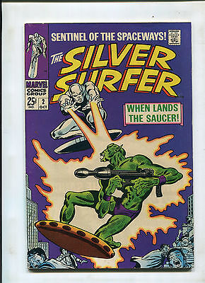 Silver Surfer #2 (8.0) 1St Appearance Of Badoon