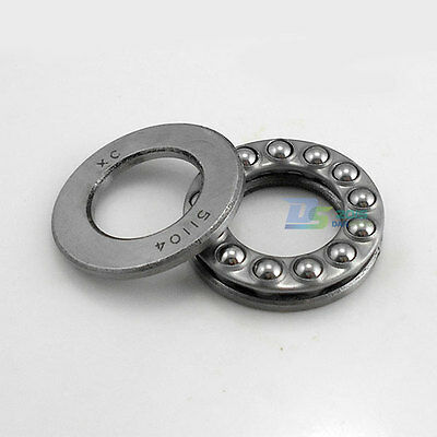 Thrust Ball Bearing 3 Part 51104 20x35x10mm Thrust Bearings 20/35/10mm