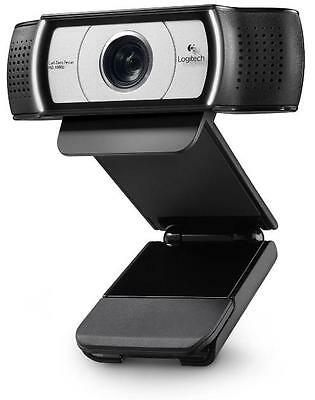 N Logitech Webcam C930e HD 1080p Video and 90-degree Field of View