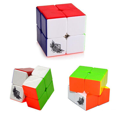 New Magic 2×2 ABS Ultra-smooth Speed Cube Twist Puzzle Stickerless Cyclone Boys