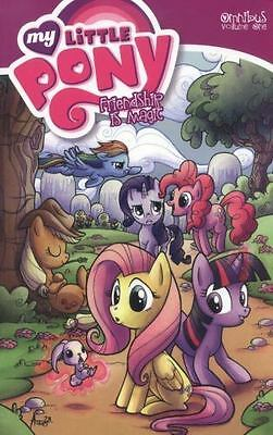 My Little Pony Omnibus Volume 1 by Heather Nuhfer and Katie Cook (2014,...