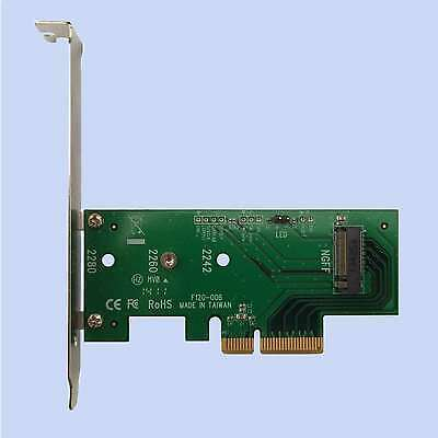 Lycom DT-120 PCIe 3.0 x4 Host Adapter für M.2 NGFF PCIe SSD