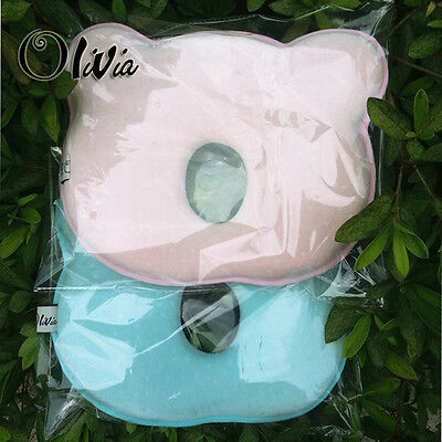 Baby Infant Pillow Head Should Support Memory Foam Prevent Flat Head Anti Roll