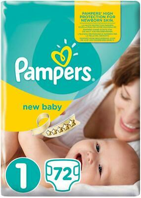 Pampers, 144 Pannolini Premium Protection, New Baby, misura 0 (1 - 2,5 kg)