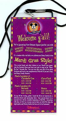 "DLR 2001 Disneyana Convention ""A Disney Family Reunion"" Conventinear Lanyard"