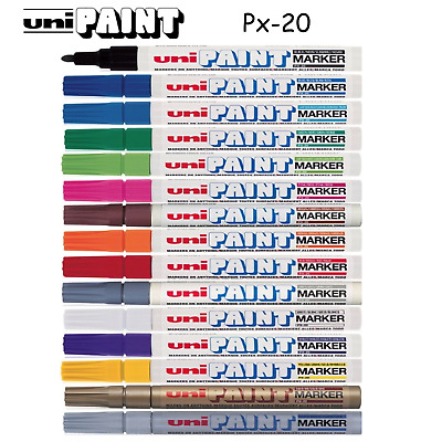 UNI-BALL UNIBALL PX-20 PX20 Large Paint Marker Pen - Many Colours Available