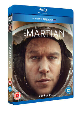 The Martian Blu-Ray (2016) Matt Damon