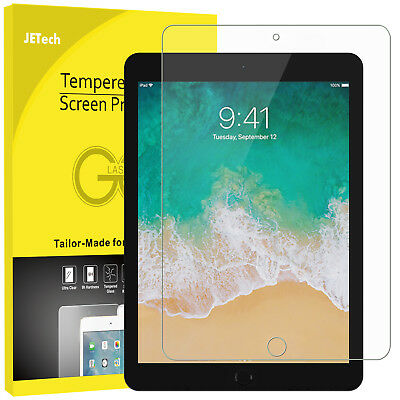 JETech Screen Protector for Apple iPad Pro 12.9 (2017/2015) Tempered Glass Film