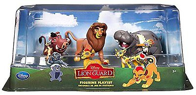 The Lion King - Lion Guard Birthday Cake Topper Figure Set Featuring Kion XTS