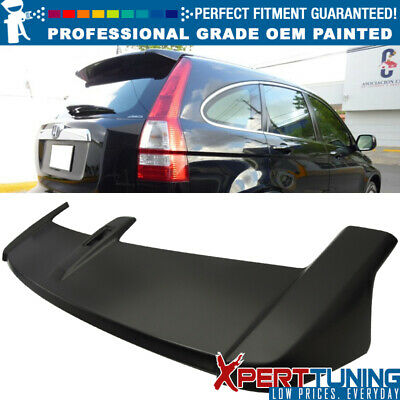 07-11 Honda CRV OE Style Painted ABS Trunk Spoiler - OEM Painted Color