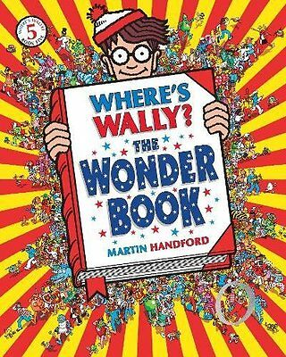 Where's Wally? The Wonder Book, Martin Handford Paperback Book The Cheap Fast