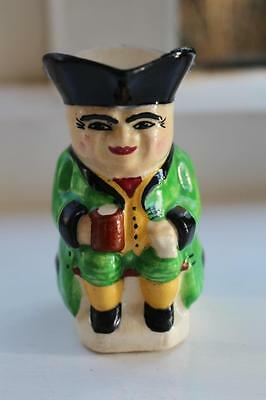 Vintage Hand painted Toby Jug of Victorian Man Seated