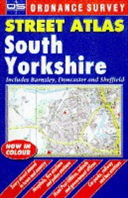 Ordnance Survey South Yorkshire Street Atlas (Ordnance Survey/  .9780540063321