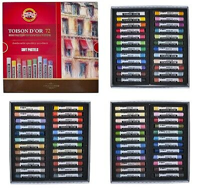 Dry pastels TOISON D`OR 72 Colors  KOH-I-NOOR NOVELTY good price