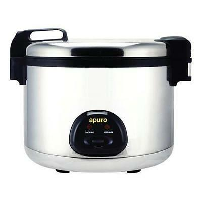 Rice Cooker / Steamer Large 9L Dry - 20L Cooked, 15Amp Commercial Apuro NEW