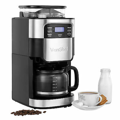 Andrew James Premium Filter Coffee Maker With Grinder : Filter Coffee Machines, Coffee, Tea & Espresso Making, Appliances, Home, Furniture & DIY 6,042 ...