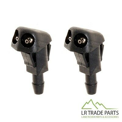 Land Rover Freelander 1 New Front Bonnet Twin Nozzle Wiper Jets X2 - Dnj500240
