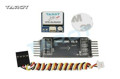 Tarot NEW Mini OSD Image Overlay / GPS System for Quadcopters - TL300L2