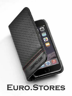 Mercedes-Benz AMG Leather iPhone 6 6s Phone Case B66952987 Genuine New
