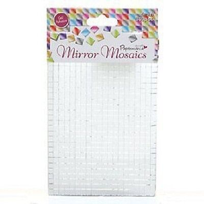 Mirror Mosaics Docrafts 5 mm Adhesive Mosaics Silver Pack of 600 PMA 3721401