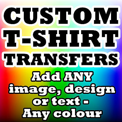 Personalised business logo iron on transfer for t shirt for Custom t shirt transfers