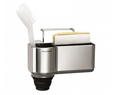 simplehuman new Brushed Stainless Steel Sink Caddy (KT1116)