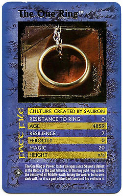 The One Ring - Lord Of The Rings Return Of The King - Top Trumps Card (C133)