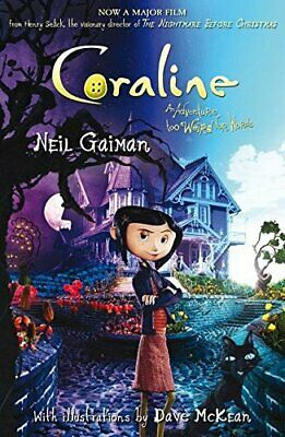 Coraline, Gaiman, Neil Paperback Book The Cheap Fast Free Post